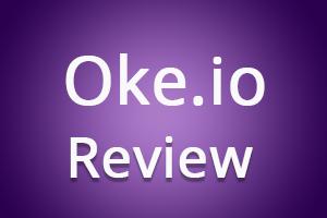 Oke.io logo - Earn money by shrinking and sharing links.