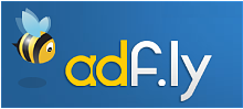 Adfly logo - Earn money by shrinking and sharing links.