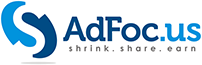 AdFoc.us logo - Earn money by shrinking and sharing links.