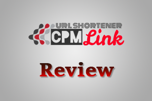 CPMlink logo - Earn money by shrinking and sharing links.