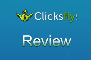 Clicksfly logo - Earn money by shrinking and sharing links.